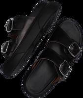 Zwarte VIA VAI Slippers MADDISON DEE  - medium