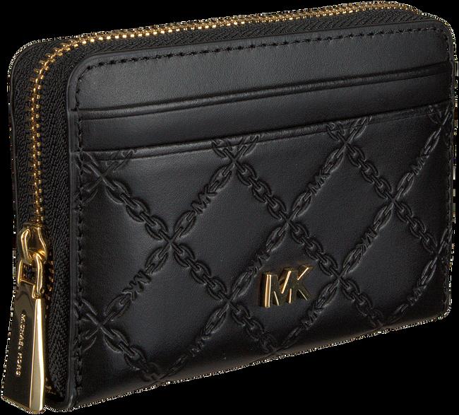Zwarte MICHAEL KORS Portemonnee MONEY PIECES ZA COIN CARD CASE  - large