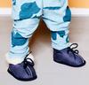 Blauwe BERGSTEIN Babyschoenen PANDA  - small