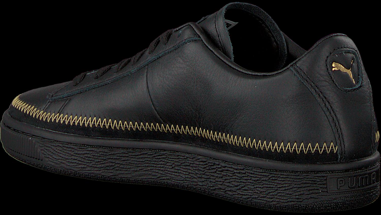2b4989bce69 Zwarte PUMA Sneakers BASKET TRIM METALLIC WN'S. PUMA. Previous