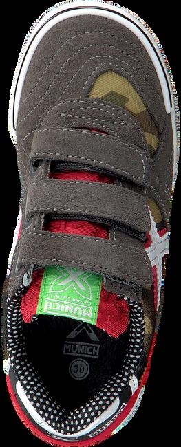 Grijze MUNICH Sneakers G3 VELCRO - large