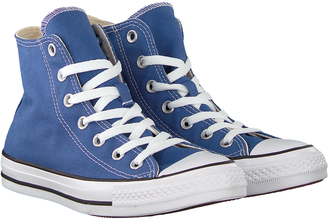 Blauwe CONVERSE Sneakers CHUCK TAYLOR ALL STAR HI DAMES  - large