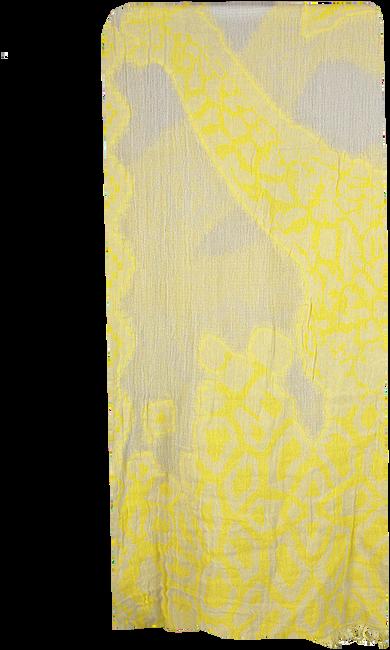 Gele I LOVE MY MOMENT Sjaal DAFFODIL - large