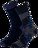 Blauwe MARCMARCS Sokken MM DOMINIC COTTON 2-PACK - small