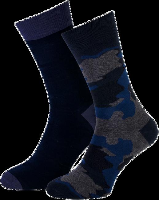 Blauwe MARCMARCS Sokken MM DOMINIC COTTON 2-PACK - large