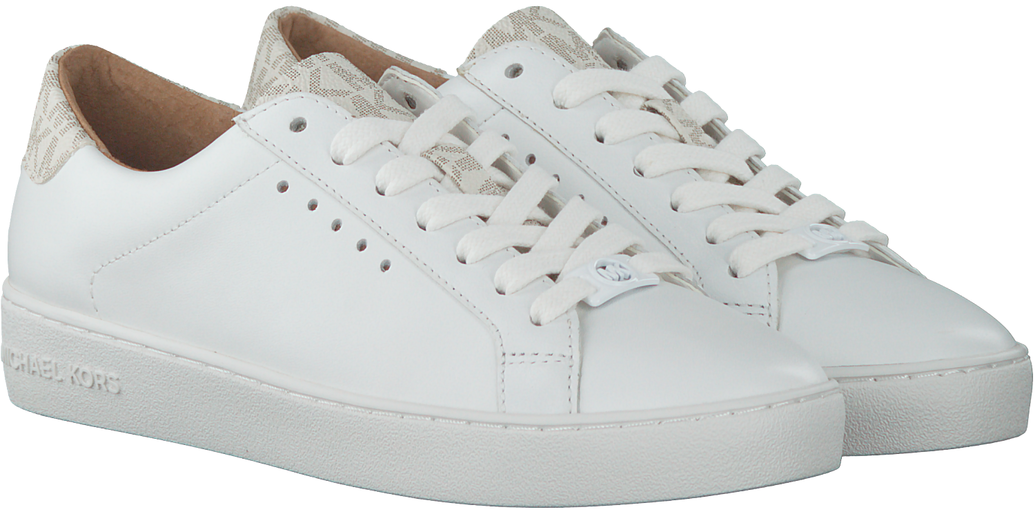 5e114171482 Witte MICHAEL KORS Sneakers IRVING LACE UP - large. Next