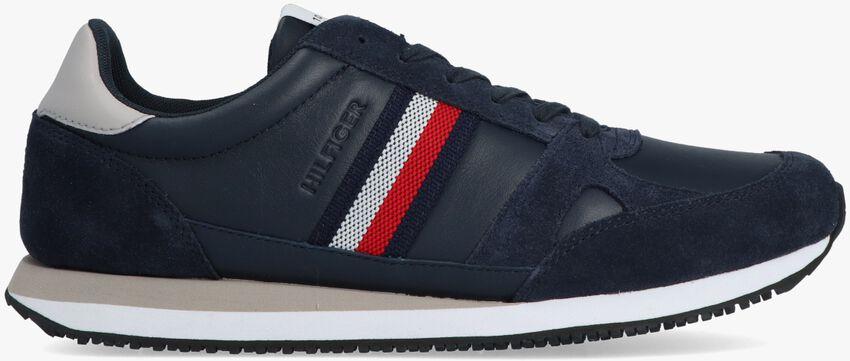 Blauwe TOMMY HILFIGER Lage sneakers RUNNER LO STRIPES  - larger