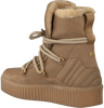 Beige TOMMY HILFIGER Veterboots COSY BOOTIE  - small