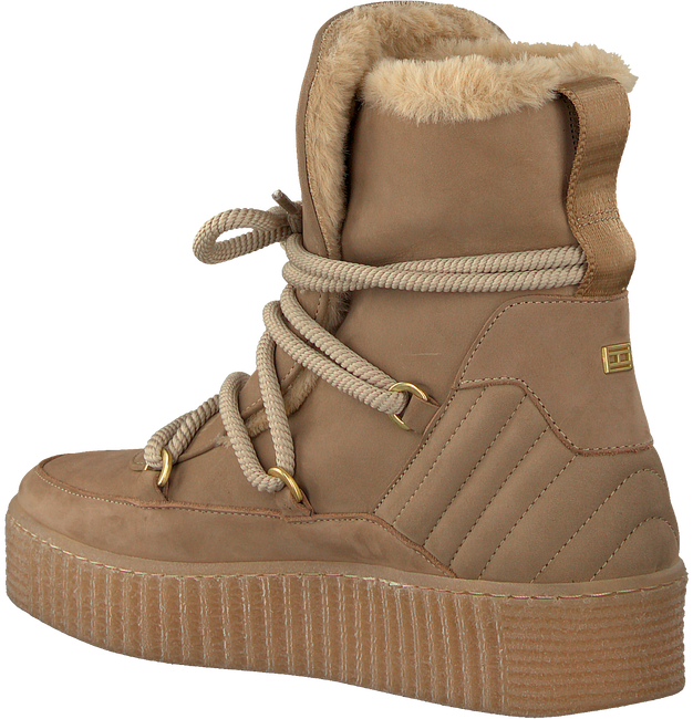 Beige TOMMY HILFIGER Veterboots COSY BOOTIE  - large