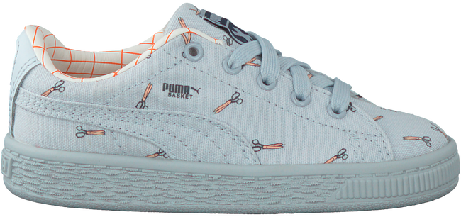 Blauwe PUMA Sneakers TINY COTTONS CANVAS  - large