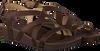 Bruine OLUKAI Slippers NANA  - small