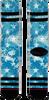 Blauwe XPOOOS Sokken 600 - small