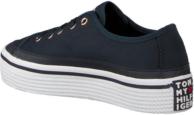 Blauwe TOMMY HILFIGER Sneakers CORPORATE FLATFORM  - large