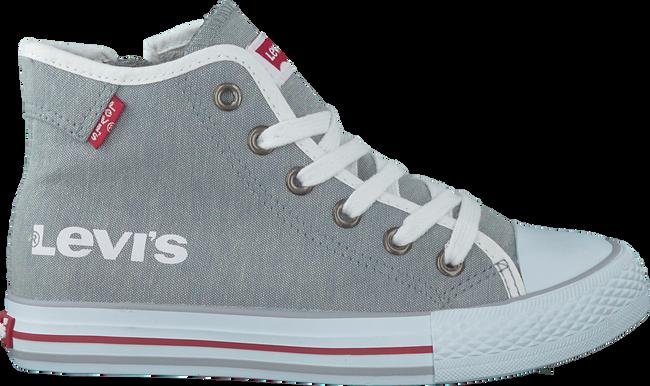 Grijze LEVI'S Sneakers DUKE MG MID CHAMBRAY KIDS  - large