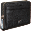 Zwarte MICHAEL KORS Portemonnee ZA COIN CARD CASE  - small