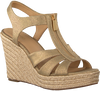 Gouden MICHAEL KORS Espadrilles BERKLEY WEDGE - small