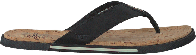 Zwarte UGG Slippers BRAVEN  - large