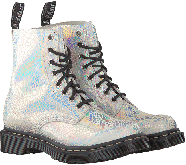 Witte DR MARTENS Veterboots 1460 PASCAL  - large