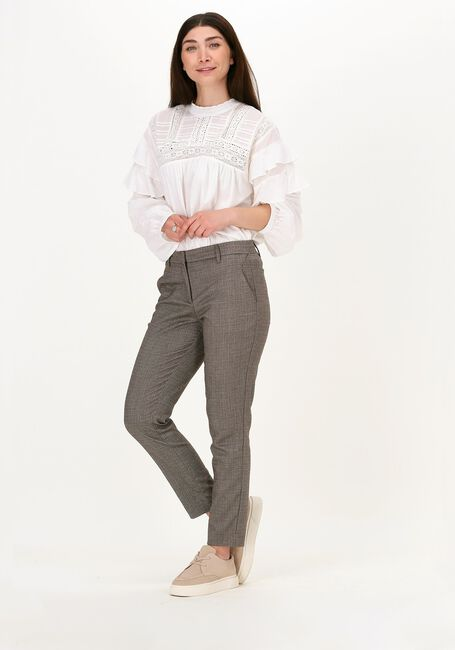 Bruine FIVEUNITS Pantalon KYLIE CROP 489  - large