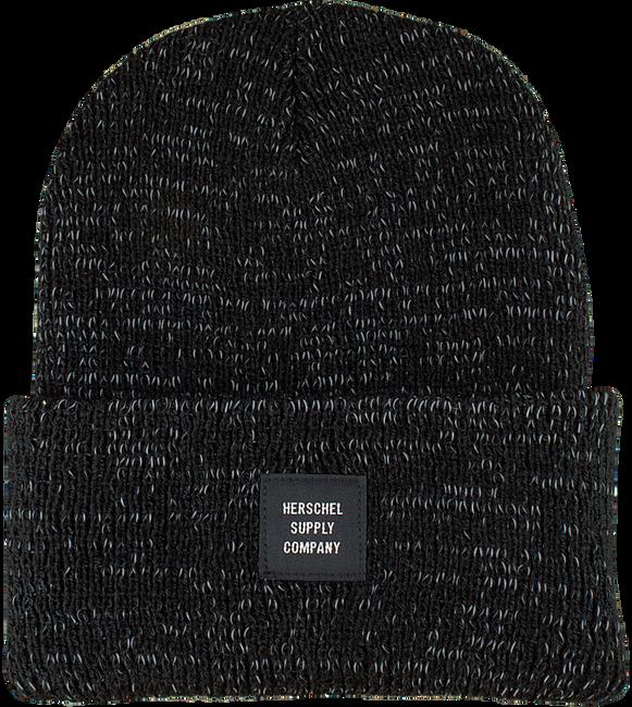 Zwarte HERSCHEL Muts ABBOTT REFLECTIVE - large