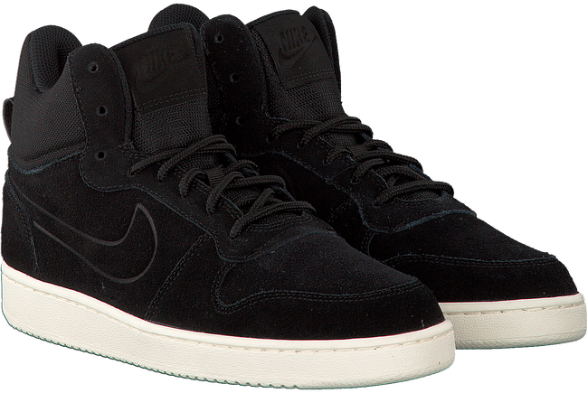 Zwarte NIKE Sneakers COURT BOROUGH MID PREM HEREN  - large