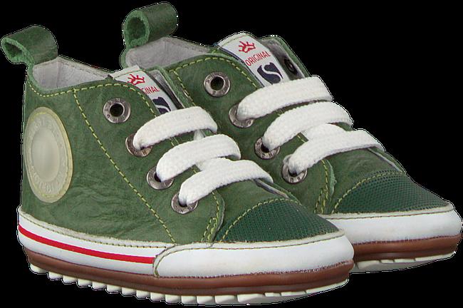 Groene SHOESME Babyschoenen BP9S004 - large