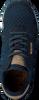 Blauwe WODEN Sneakers YDUN SUEDE MESH  - small