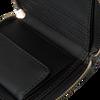 Zwarte GUESS Portemonnee JENSEN SLG SMALL ZIP AROUND  - small