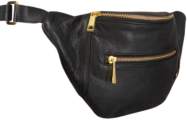 Zwarte DEPECHE Heuptas BUM BAG 12346  - large