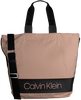 Zwarte CALVIN KLEIN Schoudertas BLOCK OUT SHOPPER - small