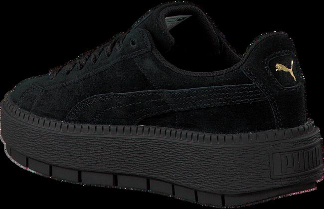 Zwarte PUMA Sneakers PLATFORM TRACE WMN  - large
