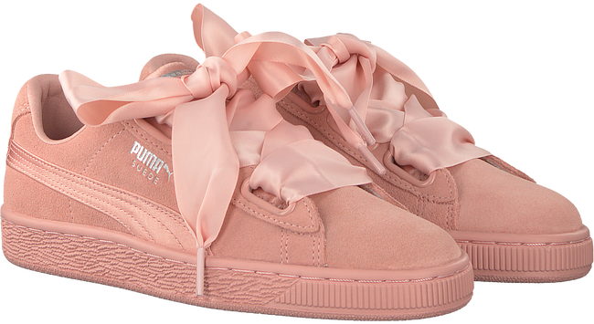 Roze PUMA Sneakers SUEDE HEART EP WMN  - large