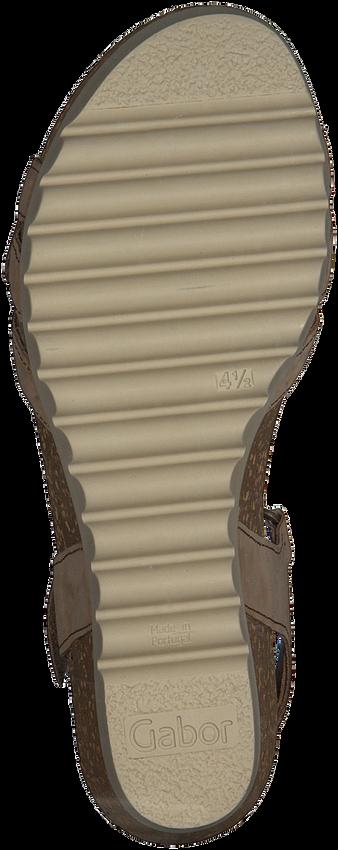 Beige GABOR Sandalen 661.1  - larger