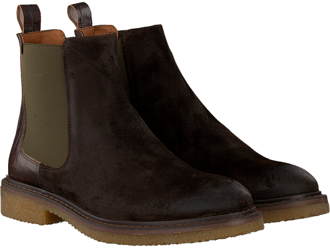 Bruine GROTESQUE Chelsea boots BUCKO 1  - large