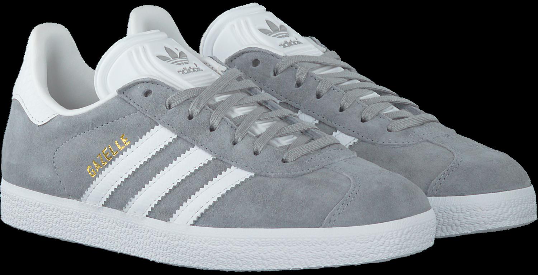 Grijze ADIDAS Sneakers GAZELLE DAMES | Omoda