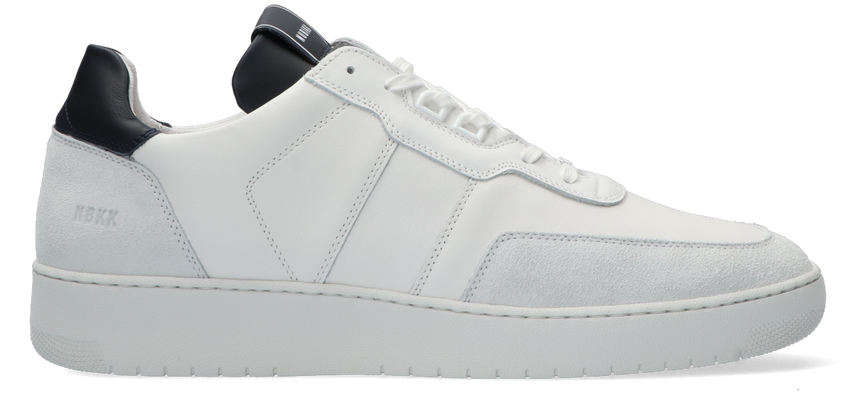 Witte NUBIKK Lage sneakers YUCCA ACE  - larger