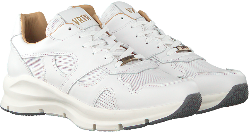 Witte VERTON Sneakers 9325A  - larger