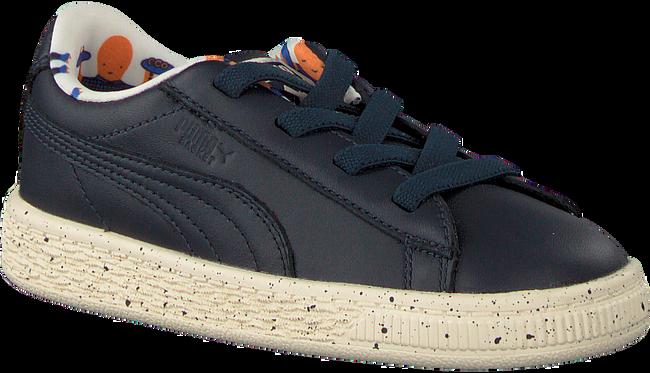 Blauwe PUMA Sneakers PUMA X TC BASKET SPECKLE - large