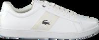 Witte LACOSTE Sneakers CARNEBY EVO  - medium