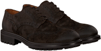Bruine GROTESQUE Veterschoenen TRIPLEX 2  - medium