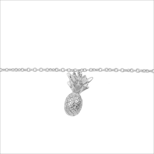Zilveren ATLITW STUDIO Armband SOUVENIR BRACELET PINEAPPLE - large