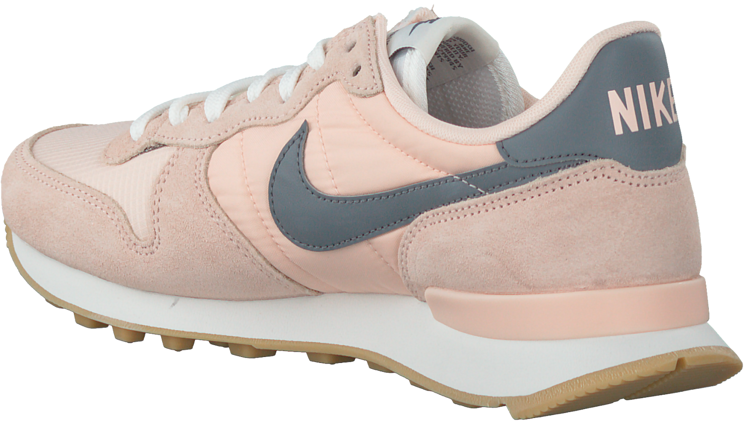 nike internationalist dames lichtroze