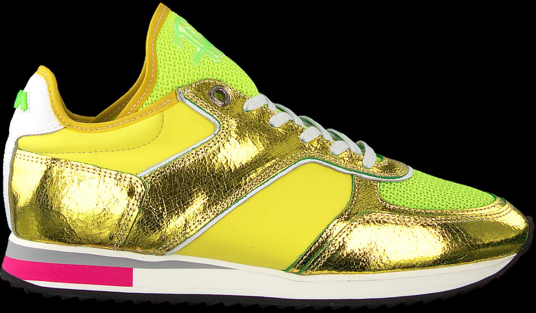 ca9083bb494 Gele FLORIS VAN BOMMEL Sneakers 85261 - Omoda.nl