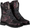 Paarse SHOESME Veterboots DE8W095 - small