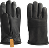 Zwarte UGG Handschoenen CASUAL LEATHER GLOVE WITH PULL - small