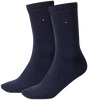 Blauwe TOMMY HILFIGER Sokken TH CHILDREN SOCK TH BASIC 2P - small