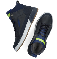 Blauwe BULLBOXER Hoge sneaker AOF500  - medium