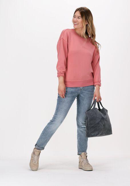 Perzik MSCH COPENHAGEN Sweater IMA DS SWEATSHIRT - large