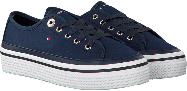 TOMMY HILFIGER SNEAKERS CORPORATE FLATFORM SNEAKER - large