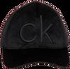 Zwarte CALVIN KLEIN Pet BASEBALL CAP VELVET - small
